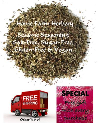 Sesame Seasoning, get free shipping & a free gift when you order now!