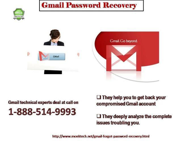 Call now 1-888-514-9993 Recover Gmail Password Issues can Fixed Remotely