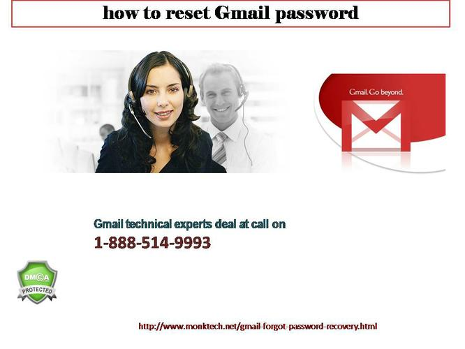 100% Satisfactory Advice for Password Recovery  For Gmail @1-888-514-9993