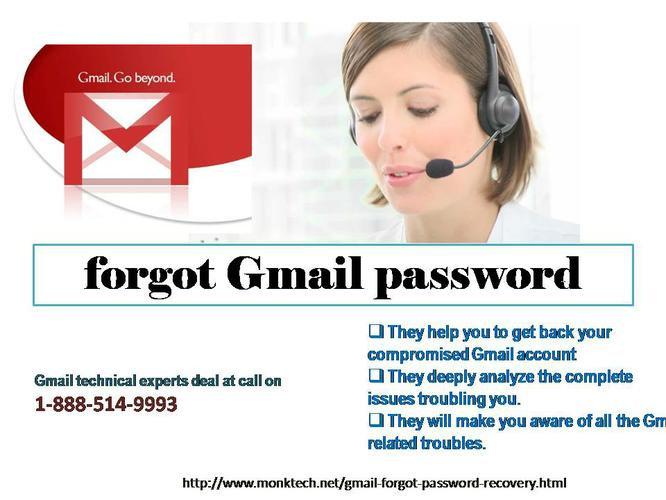 Anytime Grab Instant Assistance for forgot Gmail password @1-888-514-9993