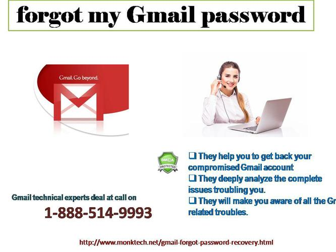 Affordable & True Assistance for forgot my Gmail password @ 1-888-514-9993