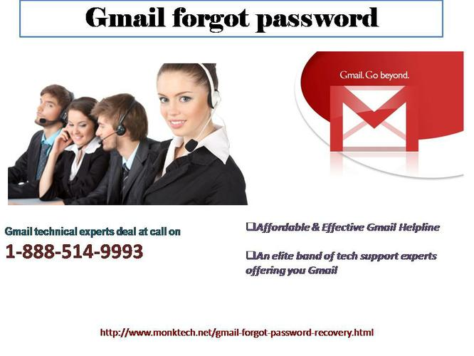 Quickly Resolve Gmail Recovery password issues @ 1-888-514-9993