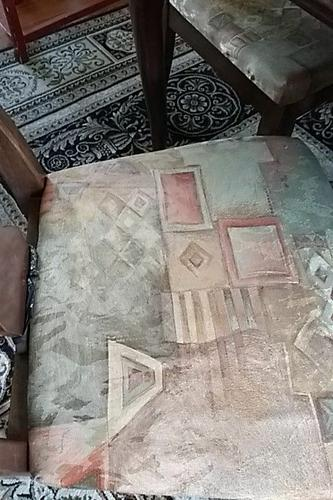 Ethan Allen Solid Wood Table & Chairs (4) w/ Leaf