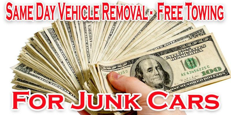Cash for cars car buyers car removal we buy any car towing
