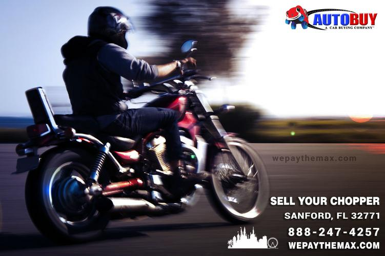 Sell Your Used Chopper In Sanford - Autobuy | wepaythemax.com
