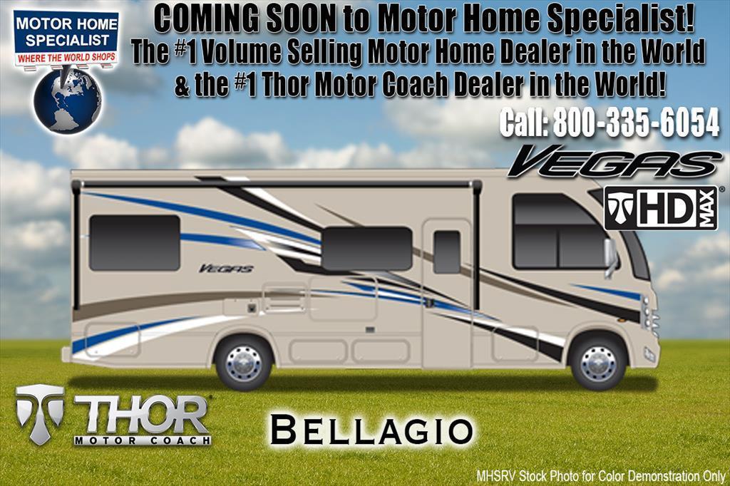 2018 Thor Motor Coach Vegas 25.5 RUV for Sale @ MHSRV W/15K A/C, IFS, King