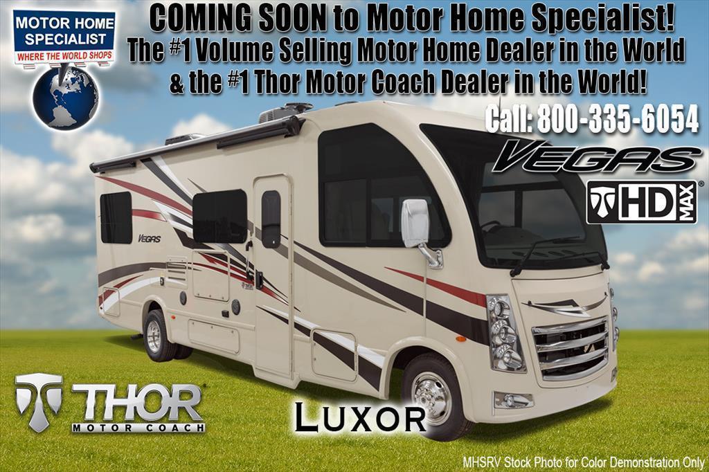 2018 Thor Motor Coach Vegas 25.4 RUV for Sale at MHSRV.com W/15K A/C & IFS