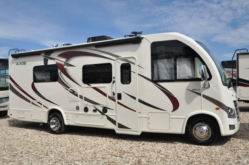 2018 Thor Motor Coach Axis 25.5 RUV for Sale at MHSRV W/King Conversion
