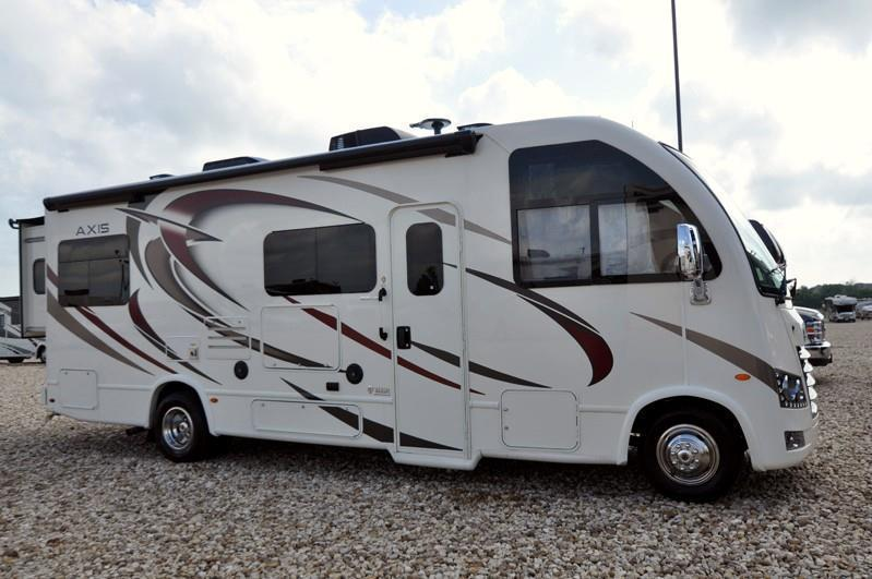 2018 Thor Motor Coach Axis 25.2 RUV for Sale at MHSRV.com W/15K A/C & IFS