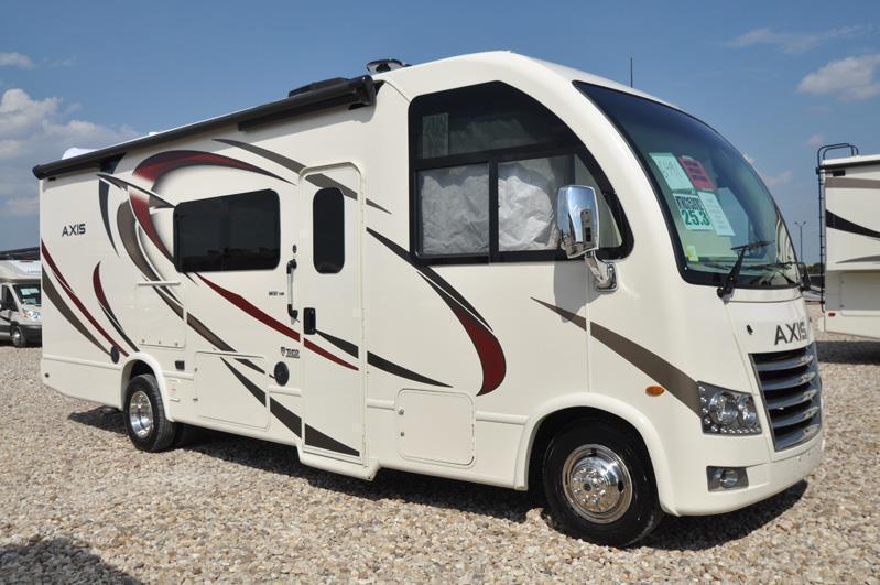 2018 Thor Motor Coach Axis 25.3 RUV for Sale at MHSRV.com W/OH Loft & IFS