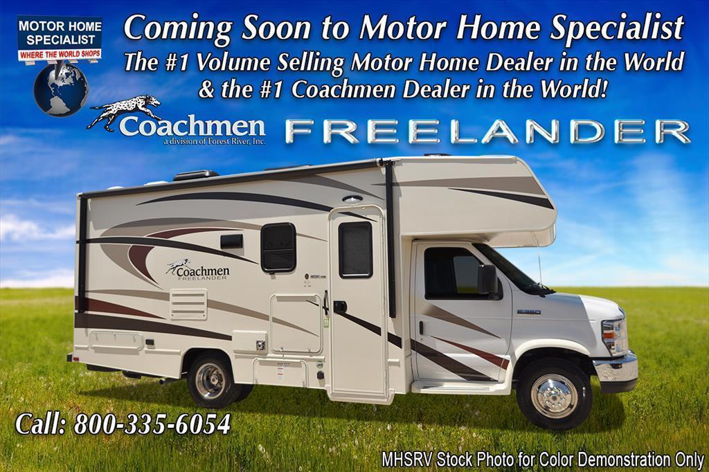 2018 Coachmen Freelander 21RSC RV for Sale at MHSRV W/Ext. Kitchen, 1
