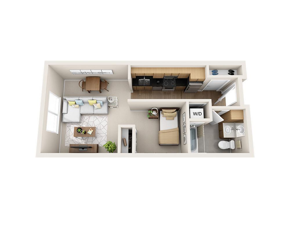 $1594 Studio Apartment for rent