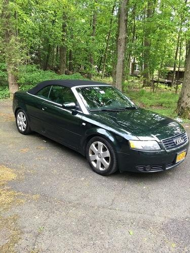 Dark Green 2006 Audi A4 Quattro Convertible