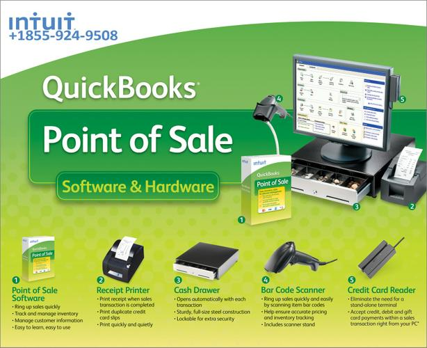 QuickBooks point of sale support number 1-855-924-9508 Intuit QuickBooks