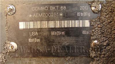 2010 BOBCAT COMBO BUCKET 68