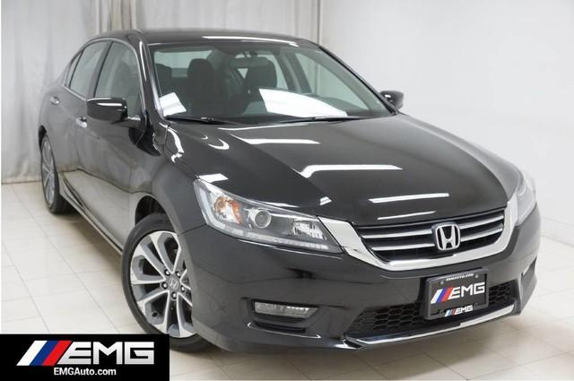 Honda Accord Sedan Sport Backup Camera 1 Owner 2015