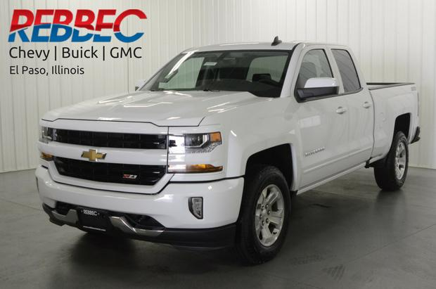 2017 Chevrolet Silverado 1500 Double Cab Standard Box 4-Wheel Drive LT Z71 All Star Edition