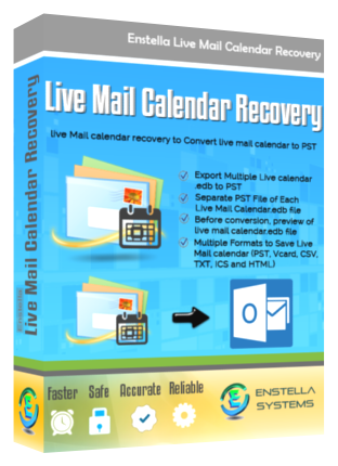 Live Mail Calendar Recovery
