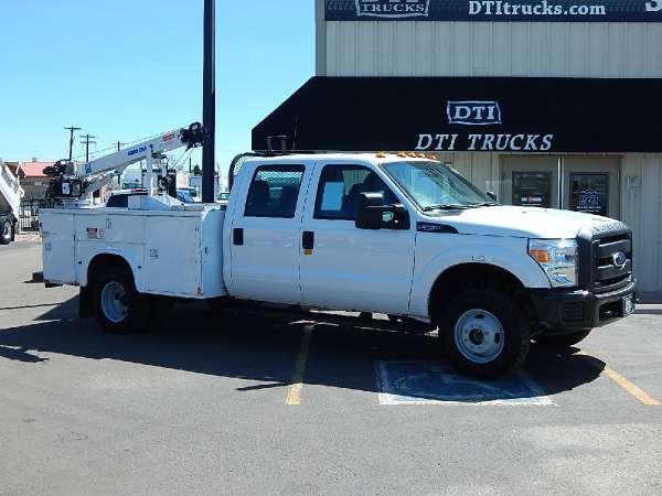 2012 Ford F350 XL Super Duty Service Crane Truck