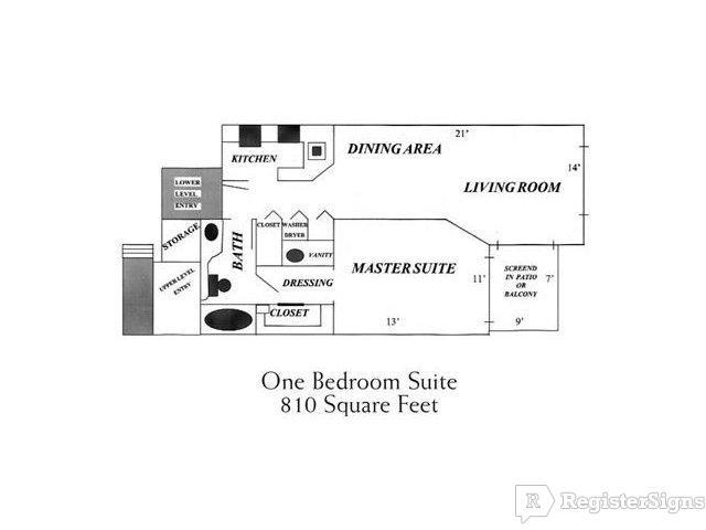 $1370 One bedroom Apartment for rent