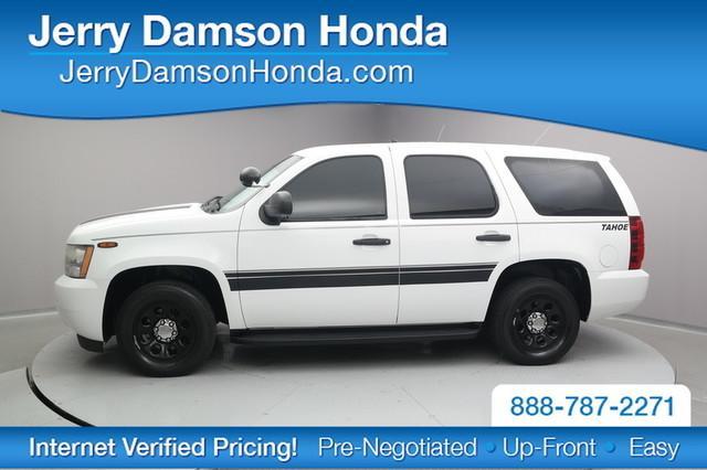 Chevrolet Tahoe Police 2009