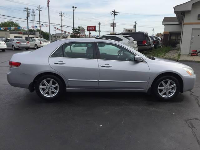 2003 Honda Accord   LX Silver