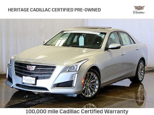 Cadillac CTS Sedan 2.0L Turbo Luxury 2015