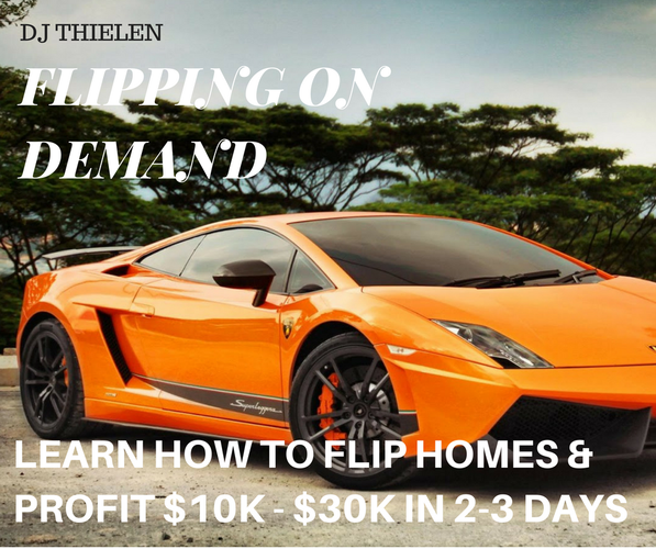 Learn How To Flip Properties And Make $10k-$30k in 2-3 Days