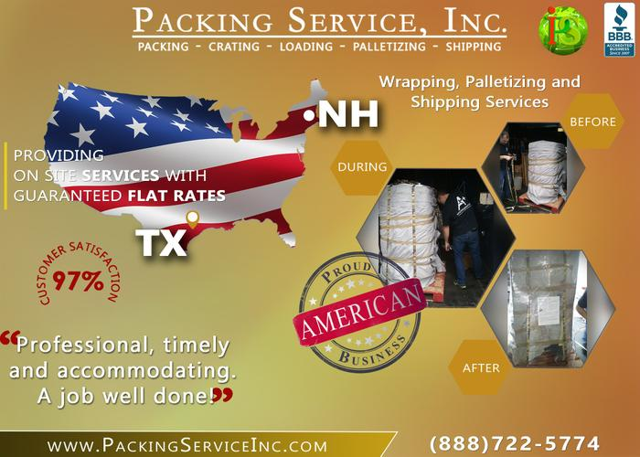 Packing Service, Inc. - Shipping Company, Cargo Freighting & Cargo Transporting