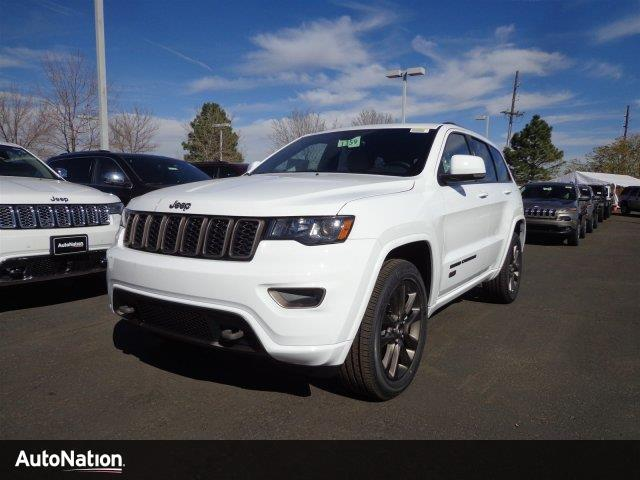 Jeep Grand Cherokee Limited 75th Anniversary Edition 2017