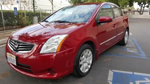 *2012 NISSAN SENTRA {RED} {P A Y M E N T S}
