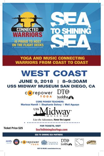 Sea to Shining Sea - Yoga | Music Festival (USS Midway)