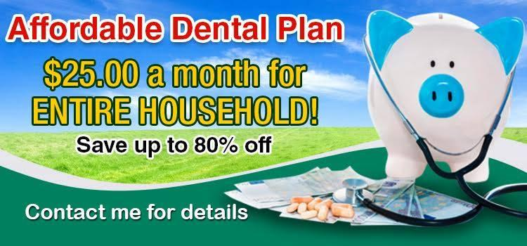 UNINSURED? GREAT DISCOUNT DENTAL/HEALTH CARE PLANS