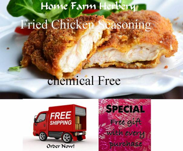 Fried Chicken Seasoning, Order the BEST now, B3G1F, Free shipping & a free gift