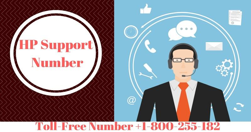 Support For HP Number 1-800-255-182