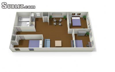 $5500 Three bedroom Apartment for rent