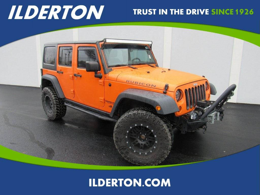 Jeep Wrangler Unlimited Unlimited Rubicon 2013