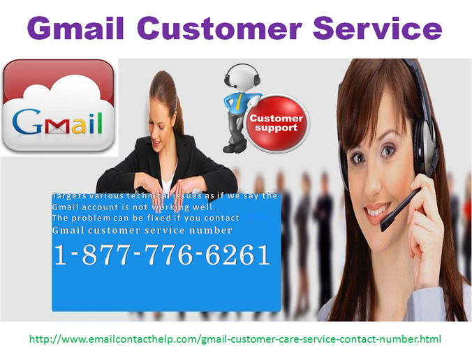 Just Call On 1-877-776-6261 (Toll-Free) Gmail Customer Service