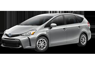 Toyota Prius v Prius v Two 2017