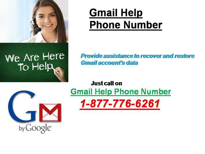 24*7 Gmail Phone Number 1-877-776-6261 For Gmail Helpline