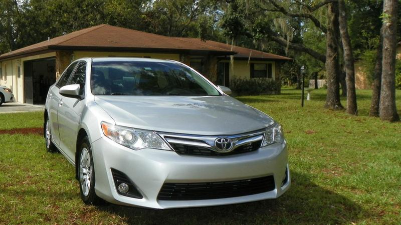 2012 Toyota Camry LE, garage kept, only 45,921 miles