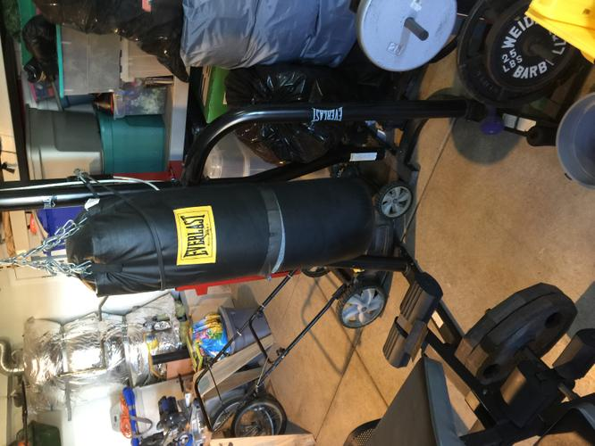 Punching Bag & Stand