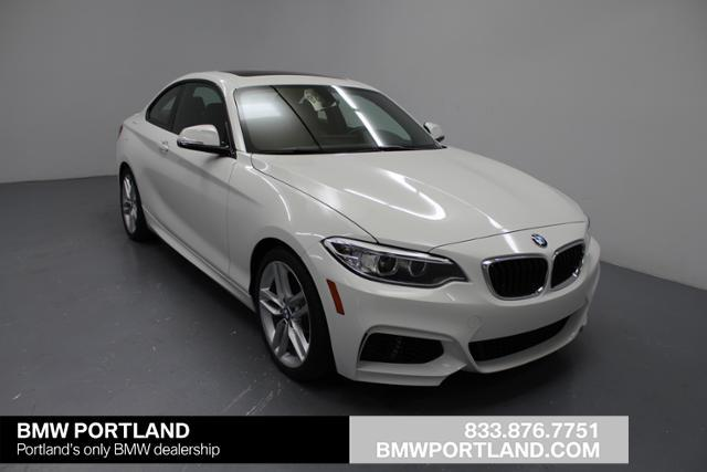 BMW 2 Series leather 2015