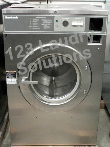 Huebsch Coin Operated Commercial Front Load Washer HC40MY2OU60001 USED