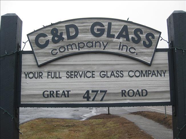 C & D Glass Company Inc