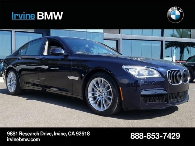 BMW 7 Series 750i 2014