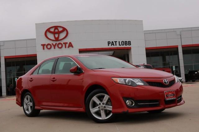 Toyota Camry SE Certified 2014