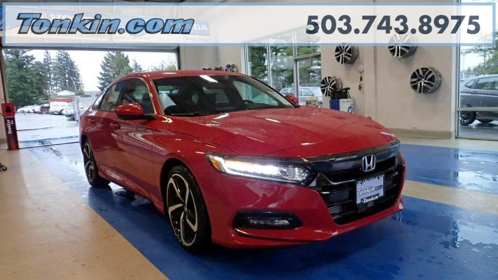 Honda Accord Sedan Sport 2018