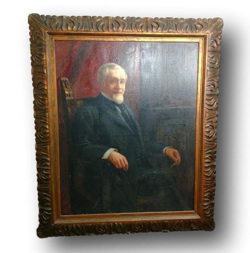 UP FOR AUCTION,  William De Leftwich Dodge Portrait