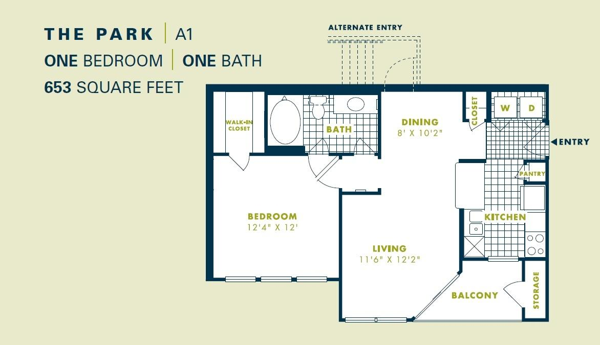 $1062 One bedroom Apartment for rent